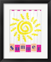 Framed Summer Sun