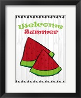 Framed Summer Watermelon