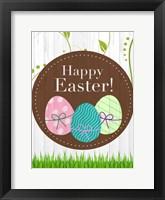 Framed Happy Easter