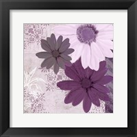 Framed Purple Bloom 3