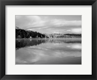 Framed Reflections of Summer BW 2B