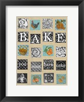 Framed Bake Tiles