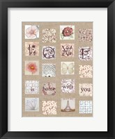 Framed Love Tiles