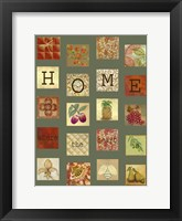 Framed Home Tiles