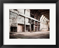 Framed Ancient Train Yard 2
