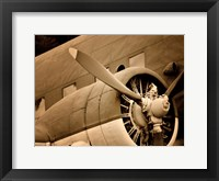 Framed Plane Engine 1