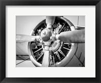 Framed Plane Engine 3