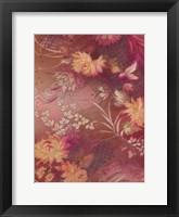 Framed Marooned Florals C