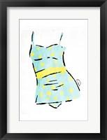 Framed Vintage Swimsuit Pastel 2