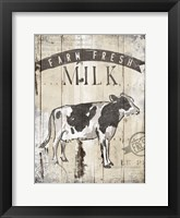 Framed Farm Fresh Milk