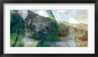 Mountain Abstract I Framed Print