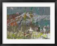 Mountain Wildflowers II Framed Print