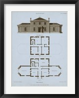 Framed Chambray House & Plan I