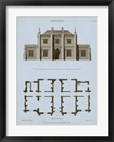 Framed Chambray House & Plan V