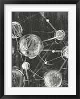 Molecular Fusion I Framed Print