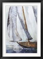 Framed Sailboat Blues I