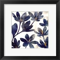 Veranda Blue I Framed Print