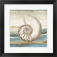 Pacific Touch I Framed Print
