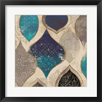 Blue Rhapsody II Framed Print