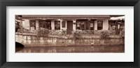 Framed Riverside Caf?