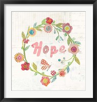 Wreath Inspiration II Framed Print