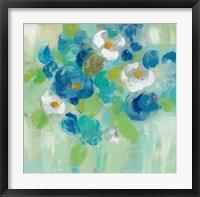 Framed Spring Aroma III White Flowers