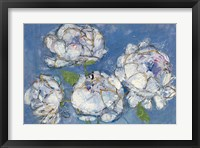 Framed Vase of Peonies Crop