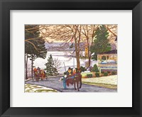 Framed Chautauqua - Currier And Ives Ride