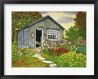 Framed Flower Shed II, Arlington Vt
