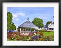 Framed Lakeshore Gazebo, Derby Ny