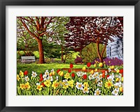 Framed Spring Garden II, Eden Ny