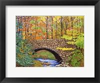 Framed Stone Bridge, Allegany State Park, Ny