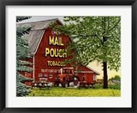 Framed Mail Pouch Barn 2