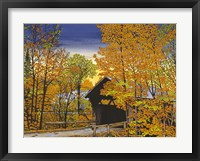 Framed Stowe Hollow Bridge