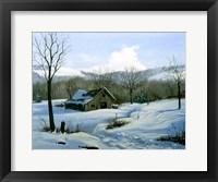 Framed Winter Landscape 1