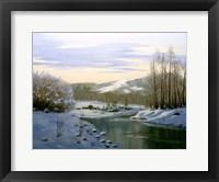 Framed Winter Landscape 5