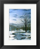 Framed Winter Landscape 6