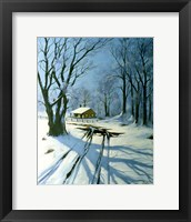 Framed Winter Landscape 10
