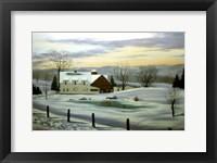 Framed Winter Landscape 11