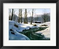 Framed Winter Landscape 12