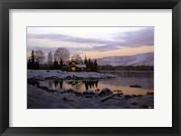 Framed Winter Landscape 13