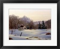 Framed Winter Landscape 16