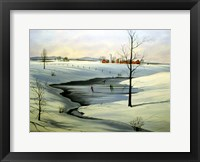 Framed Winter Landscape 30