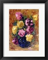 Framed Moms Roses