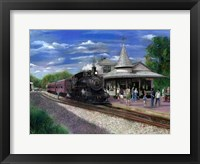 Framed New Hope Station