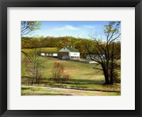 Framed Valley Forge Farm