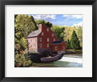 Framed Red Mill