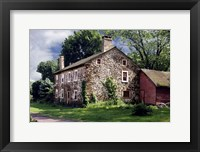 Framed Stone House 3