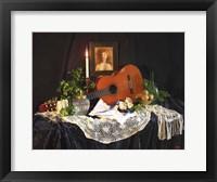 Framed Guitar Still Photo