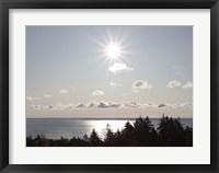 Atlantic Skies I Framed Print